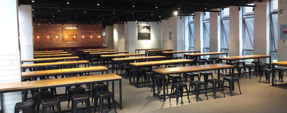 茶山公司食堂